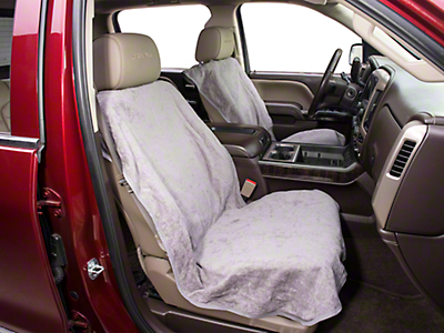 Seat Armour Seat Protector - Gray (07-18 Sierra 1500)