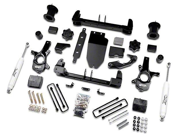 Zone Offroad 6.5 in. Suspension Lift Kit w/ Shocks (14-18 4WD Sierra 1500, Excluding Denali)