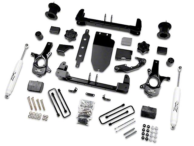 Zone Offroad 4.5 in. Suspension Lift Kit w/ Shocks (14-17 2WD Sierra 1500)