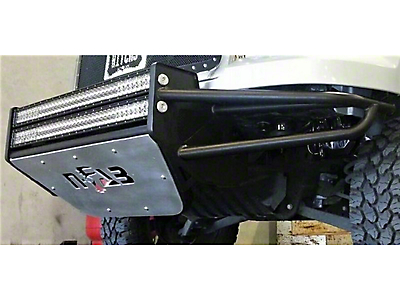 N-Fab R.S.P. Pre-Runner Front Bumper for Dual 38 in. Rigid LED Lights - Textured Black (07-13 Sierra 1500)