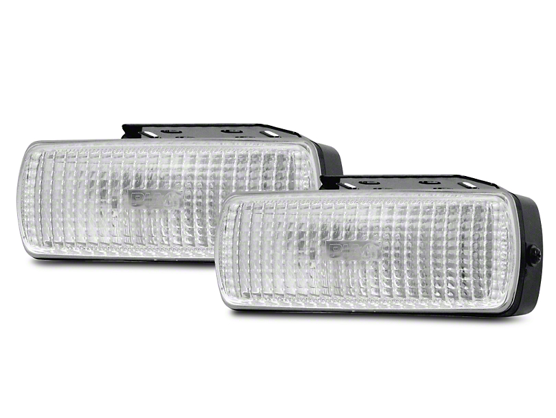 PIAA 1500 Series Clear Halogen Back-Up Lights - Flood Beam - Pair (07-18 Sierra 1500)
