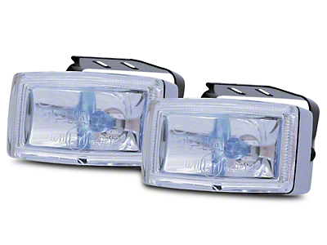 PIAA 2000 Series XTreme White Plus Halogen Lights - Fog Beam - Pair (07-18 Sierra 1500)