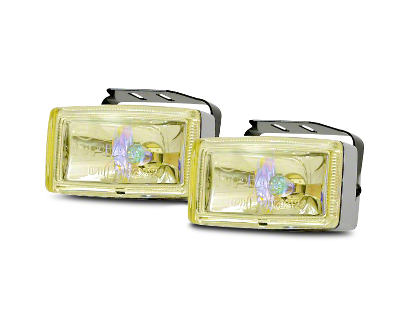 PIAA 2000 Series Ion Yellow Halogen Lights - Fog Beam - Pair (07-18 Sierra 1500)