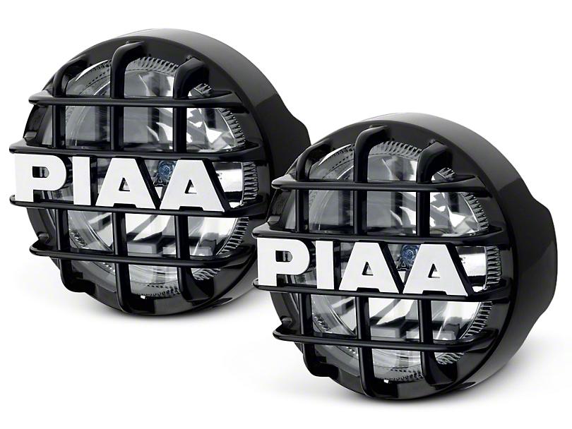PIAA Series 4 in. Round Xtreme White SMR Lights - Fog Beam - Pair (07-18 Sierra 1500)