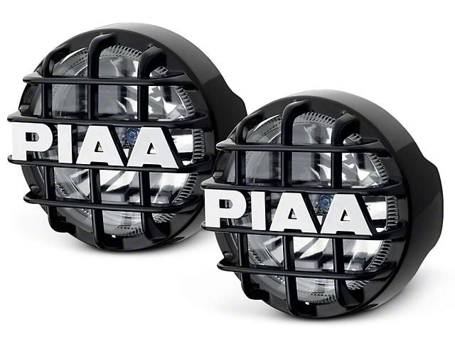 PIAA 510 Series 4 in. Round Xtreme White SMR Lights - Driving Beam - Pair (07-18 Sierra 1500)