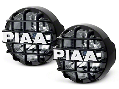 PIAA 510 Series 4 in. Round Xtreme White SMR Lights - Driving Beam - Pair (07-18 Sierra 1500)