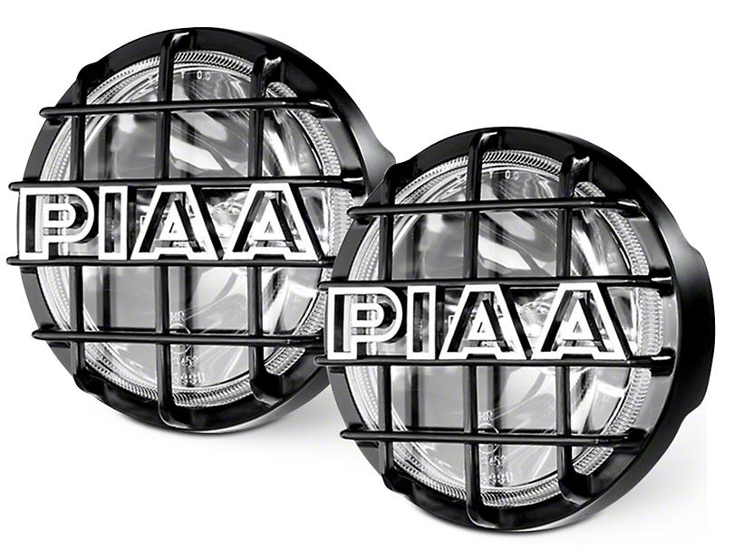 PIAA 520 Series 6 in. Round SMR Xtreme White Halogen Lights - Driving Beam - Pair (07-19 Sierra 1500)