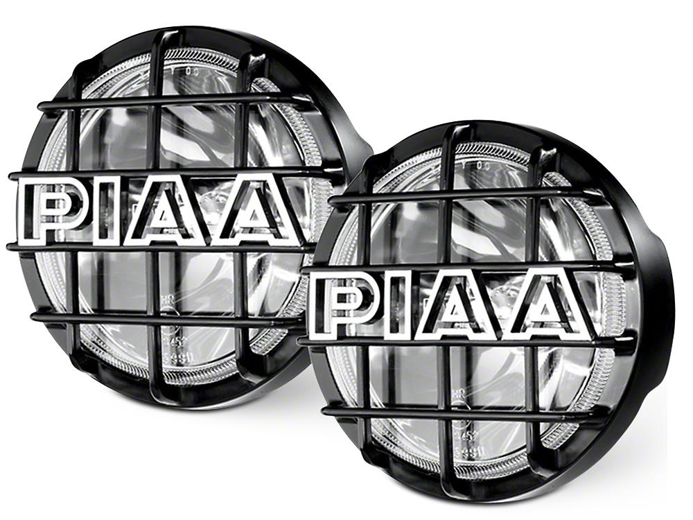 PIAA 520 Series 6 in. Round SMR Xtreme White Halogen Lights - Driving Beam - Pair (07-18 Sierra 1500)