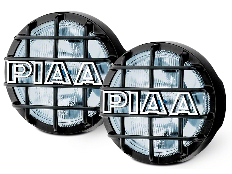 PIAA 540 Series 5 in. Round Xtreme White Halogen Lights - Driving Beam - Pair (07-18 Sierra 1500)