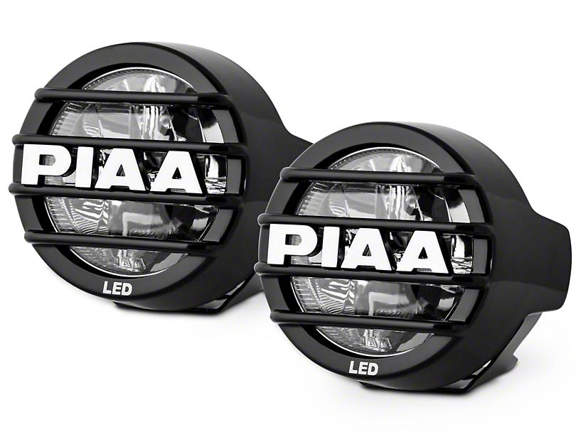 PIAA LP530 3.5 in. Round LED Lights - Fog Beam - Pair