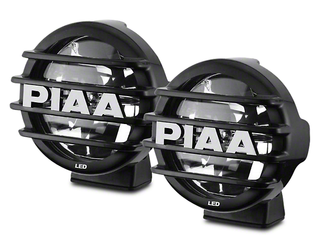 PIAA LP550 5 in. Round LED Lights - Driving Beam - Pair