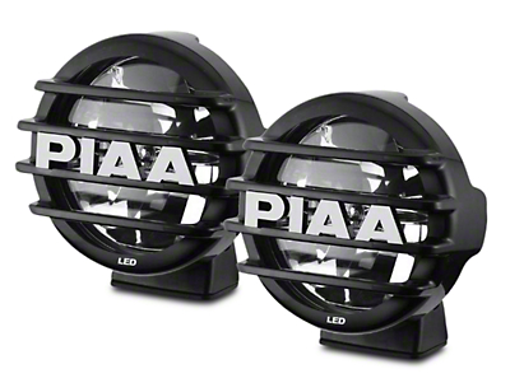 PIAA LP550 5 in. Round LED Lights - Driving Beam - Pair