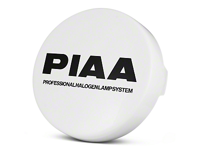 PIAA 520/40 Series 6 in. Round Solid White Cover w/ PIAA Logo (07-18 Sierra 1500)