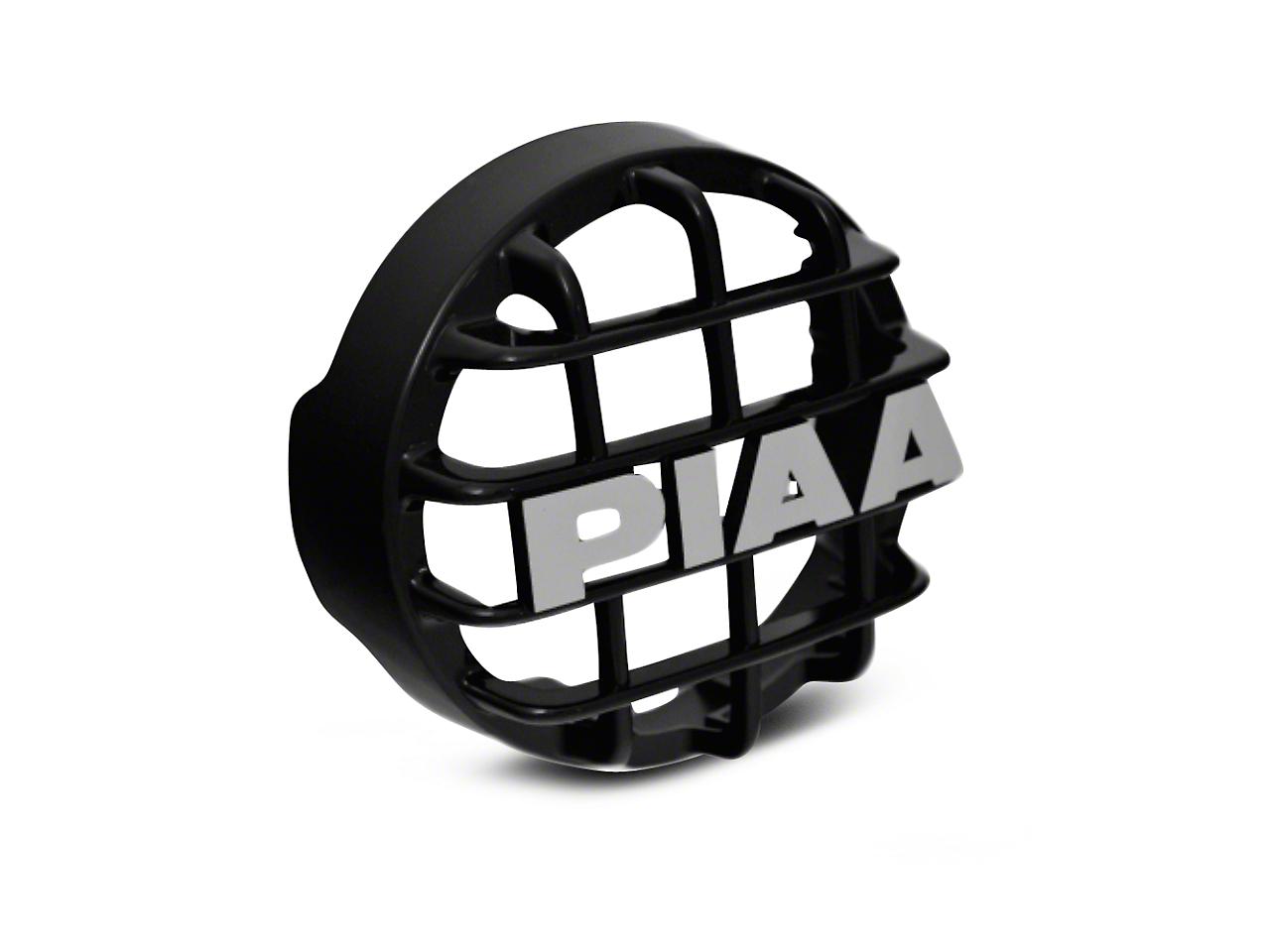 PIAA 510 Series 4 in. Black Mesh Grille w/ PIAA Logo (07-18 Sierra 1500)