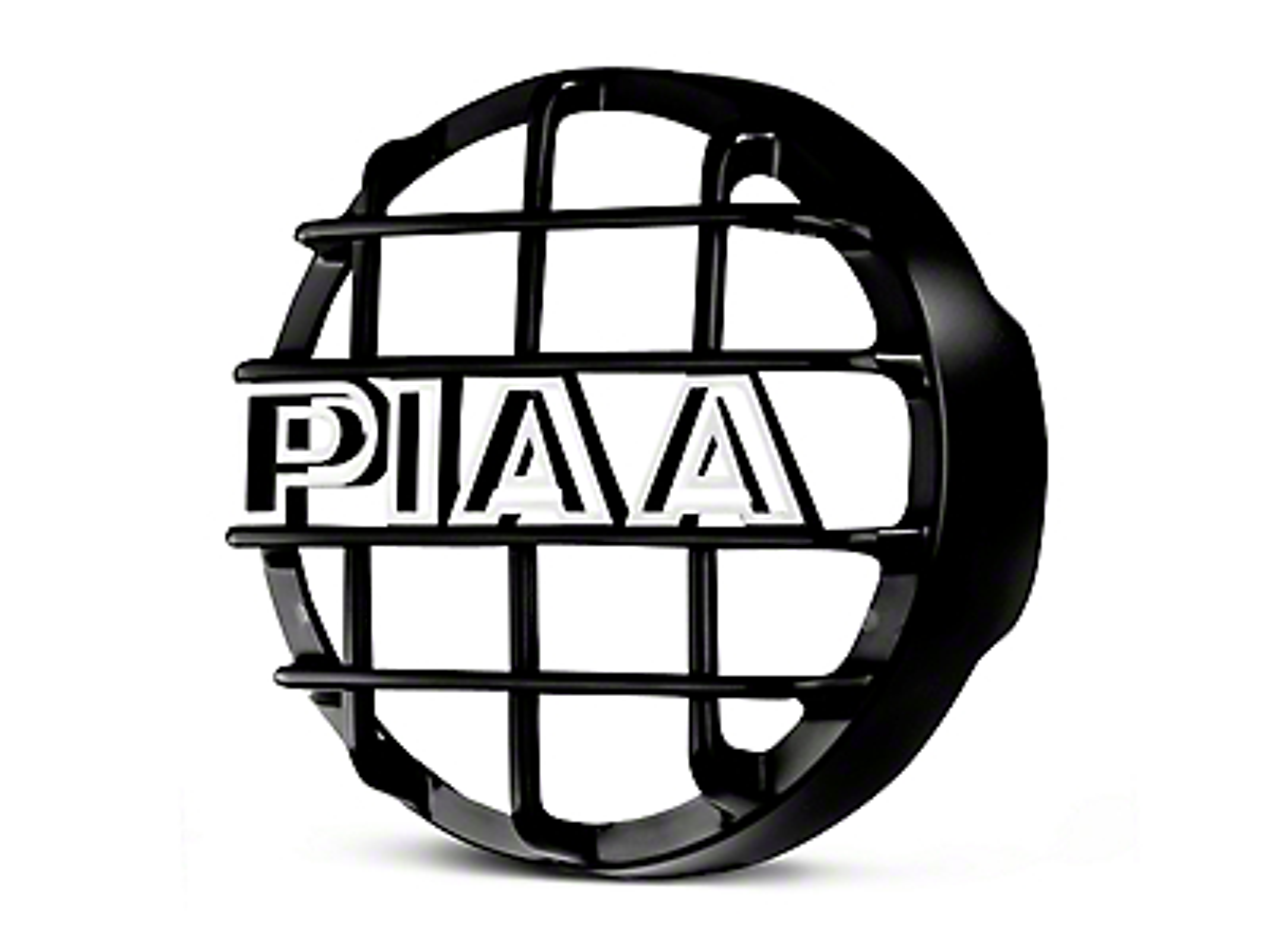 PIAA 540 Series 5 in. Round Black Mesh Grille w/ PIAA Logo (07-18 Sierra 1500)