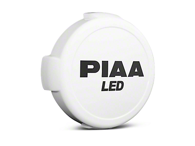 PIAA LP570 Series 7 in. Round Solid White Cover w/ PIAA Logo (07-18 Sierra 1500)