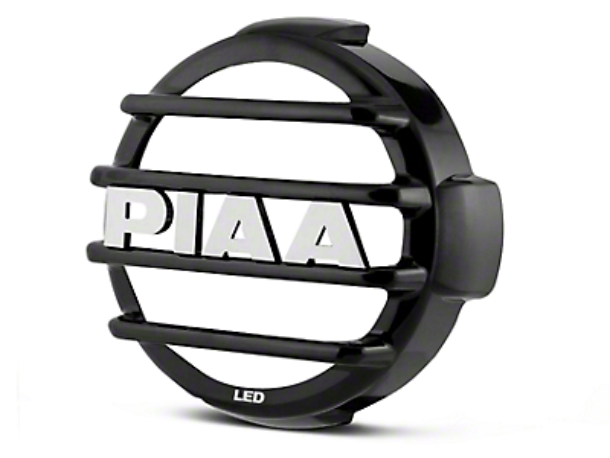 PIAA LP570 Series 7 in. Round Black Mesh Grille w/ PIAA Logo (07-18 Sierra 1500)
