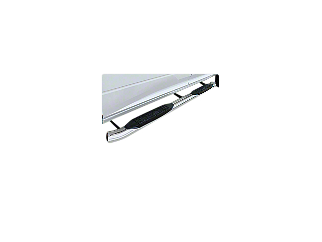 Raptor Series 5 in. OE Style Curved Oval Body Mount Side Step Bars - Polished Stainless (07-13 Sierra 1500)