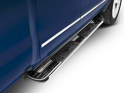 Raptor Series 7 in. SSR Stainless Steel Rocker Mount Running Boards - Polished (14-18 Sierra 1500)