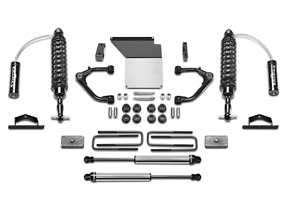 Fabtech 4 in. Uniball Upper Control Arm System w/ Dirt Logic Reservoir Coilovers & Shocks (07-13 2WD/4WD Sierra 1500 Extended Cab, Crew Cab)