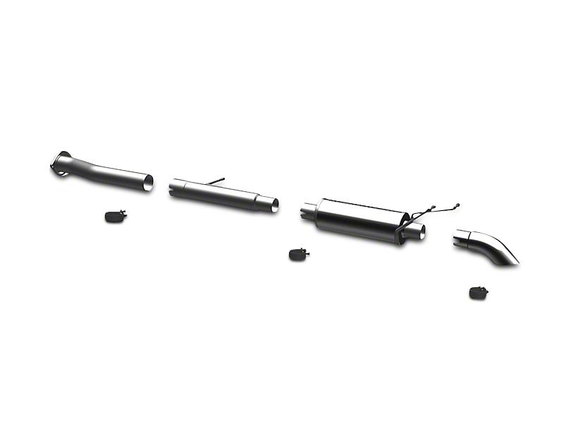 Magnaflow Off Road Pro Series Single Exhaust System - Turn Down (07-13 4.3L Sierra 1500)