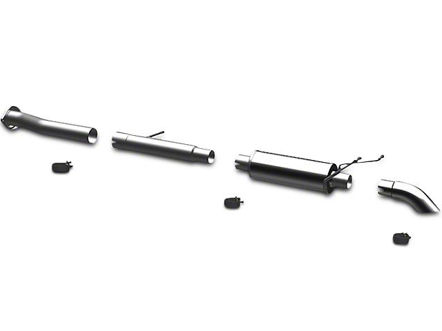 Magnaflow Off Road Pro Series Single Exhaust System; Turn Down (07-13 4.3L Sierra 1500)