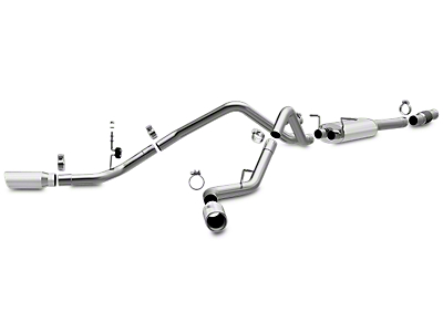 Magnaflow MF Series Dual Exhaust System - Side Exit (14-18 4.3L Sierra 1500)