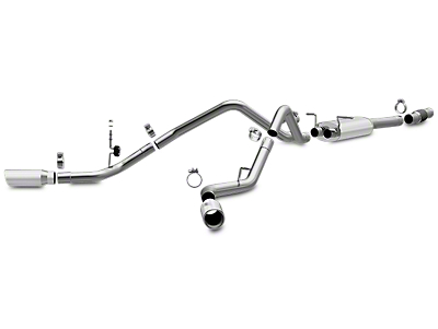 Magnaflow MF Series Dual Exhaust System - Side Exit (14-18 5.3L Sierra 1500)