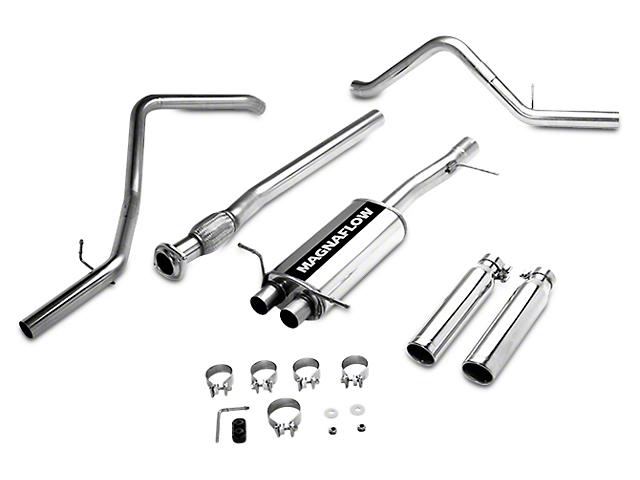 Magnaflow MF Series Dual Exhaust System - Rear Exit (07-13 4.8L Sierra 1500)