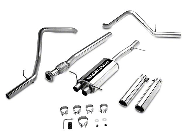 Magnaflow MF Series Dual Exhaust System - Rear Exit (07-13 5.3L Sierra 1500)
