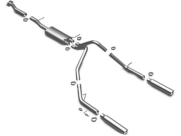 Magnaflow MF Series Dual Exhaust System - Rear Exit (07-08, 10-13 4.3L Sierra 1500)