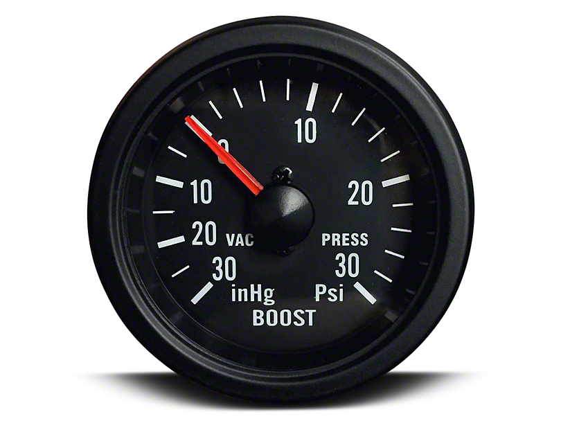 Prosport 30 PSI Boost/Vac Gauge - Mechanical (07-18 Sierra 1500)