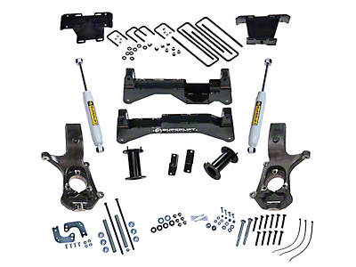 SuperLift 8 in. Suspension Lift Kit w/ Superide Shocks (14-18 4WD Sierra 1500, Excluding Denali)