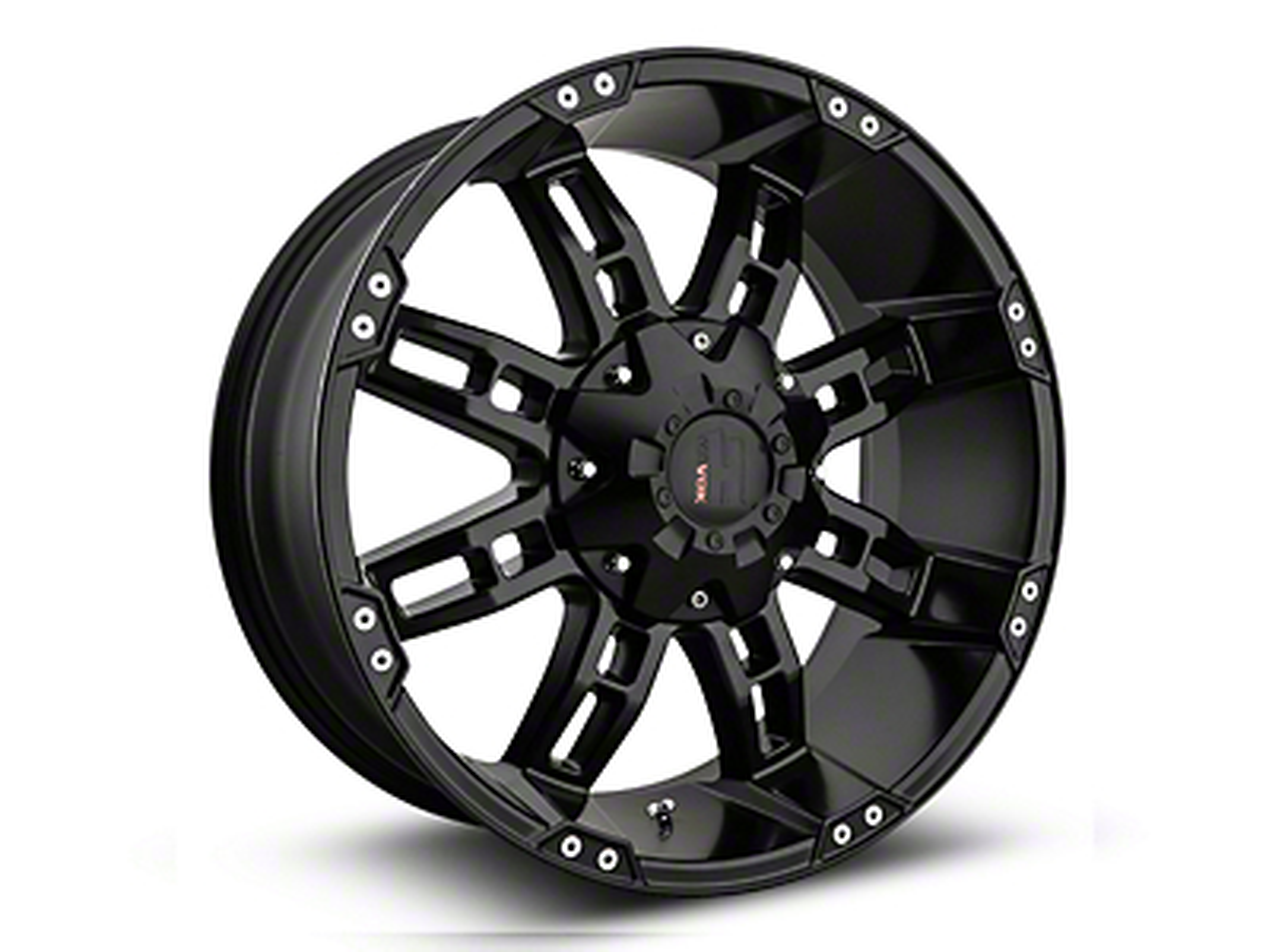 Havok Off-Road H103 Matte Black 6-Lug Wheel - 20x9 (07-18 Sierra 1500)