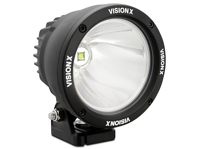 Vision X 4.5 in. LED Cannon - 1,000 ft. Range - Spot Beam - Single