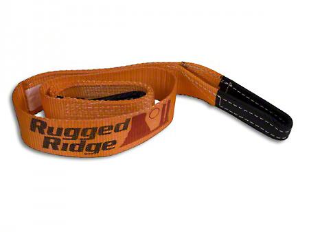 Rugged Ridge 3 in. x 6 ft. Tree Trunk Protector - 30,000 lbs.