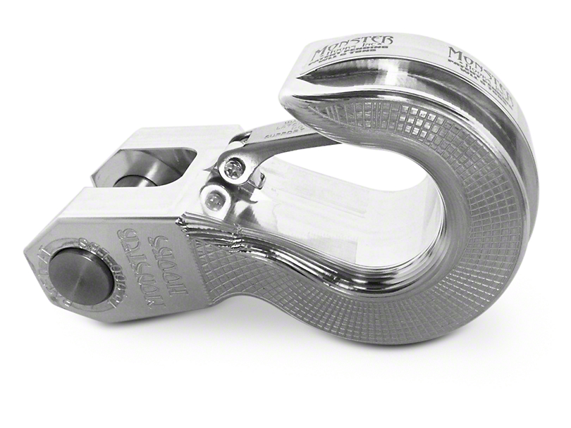 Monster Hook Swivel Recovery Hook - Aluminum