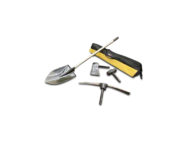 Rugged Ridge All-Terrain Recovery Tool Kit