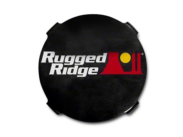 Rugged Ridge 7 in. HID Off-Road Light Covers - Black (07-18 Sierra 1500)