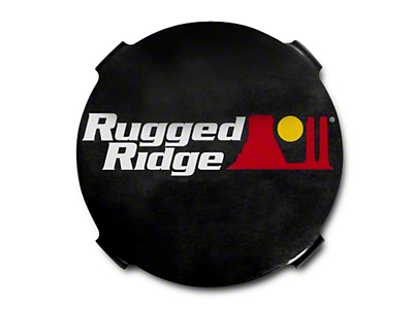 Rugged Ridge 7 in. HID Off-Road Light Covers - Black (07-18 Sierra 1500)