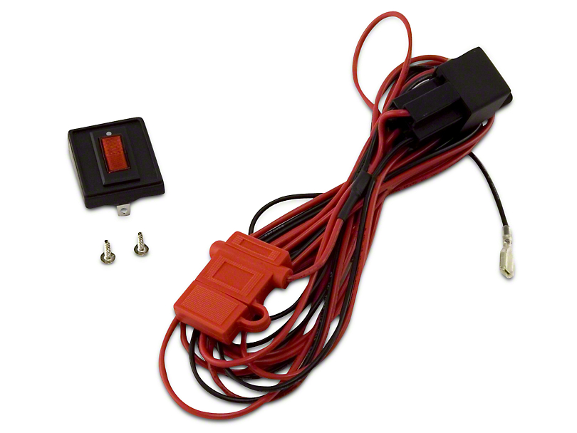 Rugged Ridge Wiring Harness for Two HID Off-Road Fog Lights (07-18 Sierra 1500)