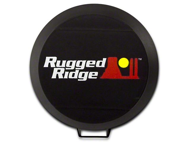 Rugged Ridge 6 in. HID Off-Road Light Cover - Black (07-18 Sierra 1500)