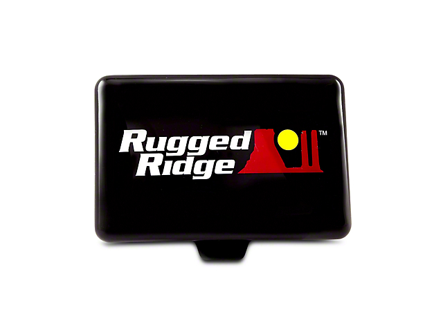 Rugged Ridge 5x7 in. Off-Road Light Cover - Black (07-18 Sierra 1500)