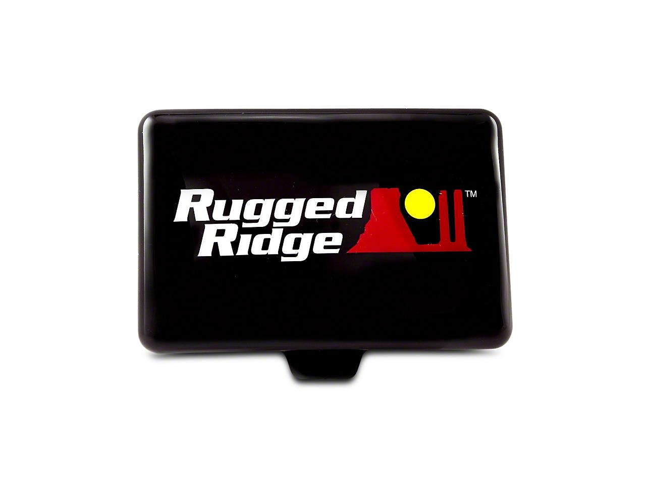 Rugged Ridge 5x7 in. Off-Road Light Cover - Black (07-18 Sierra 1500)