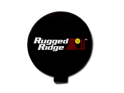 Rugged Ridge 6 in. Off-Road Light Cover - Black (07-18 Sierra 1500)