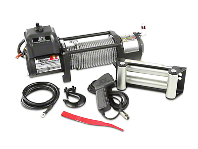 Rugged Ridge Spartacus Heavy Duty 8,500 lb. Winch w/ Steel Cable