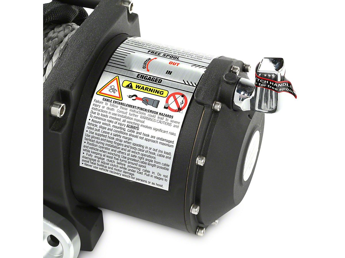Rugged Ridge Spartacus Performance 8,500 lb  Winch w/ Synthetic Rope