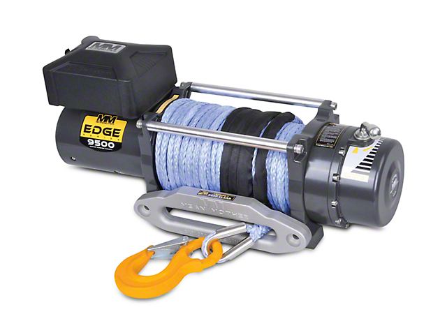 Mean Mother EDGE Series 9,500 lb. Winch with Synthetic Rope