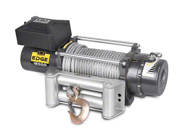 Mean Mother EDGE Series 12,000 lb. Winch (Universal; Some Adaptation May Be Required)