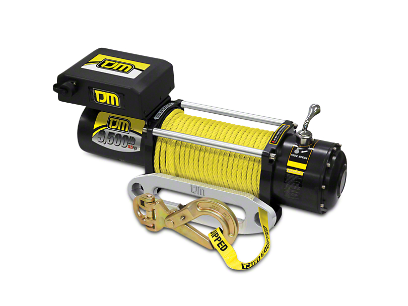 TJM 9,500 lb. Torq Winch w/ Synthetic Rope
